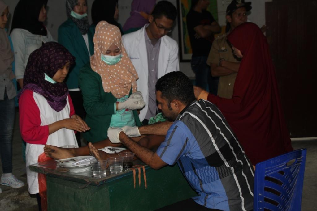 Sunatan Massal di Kecamatan Padangguni, Kabupaten Konawe